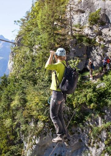 Via Ferrata - Activité d'été à la montagne - La Giettaz