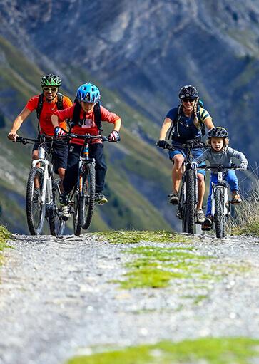 Randonnée VTT - Activité d'été à la montagne - La Giettaz