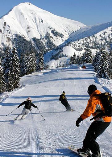 Ski / Snow / Glisse - Activité d'hiver à la montagne - La Giettaz