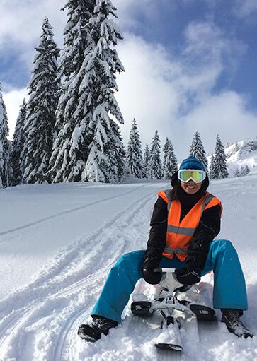 Yooner / Paret - Activité d'hiver à la montagne - La Giettaz